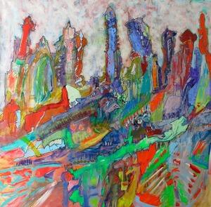 Joan Ramon SOTO - Gemälde - Un dia Mitologíco