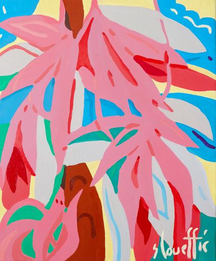 Sébastien COUEFFIC - Painting - Composition florale 1