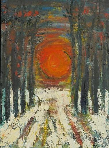 Bernard PINEAU - Painting - H065 Froideur