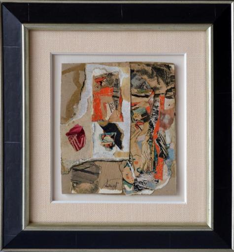 Jacques DOUCET - Painting - Composition