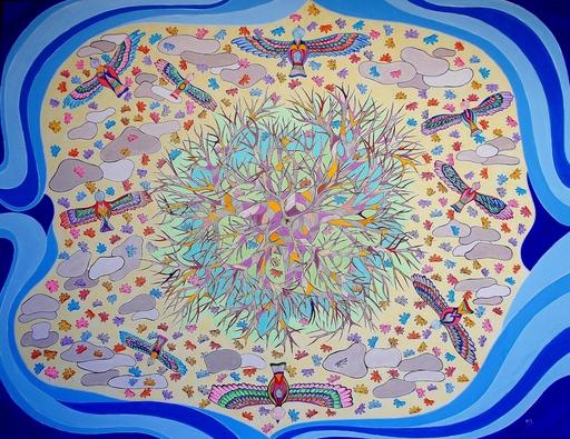 Monique BERTINA - Peinture - Couleurs d'automne