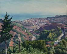 阿尔伯特·马尔凯 - 绘画 - Beau jour, vue d'Alger