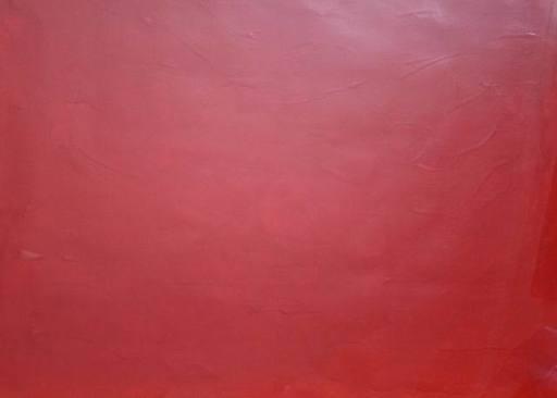 Bernard AUBERTIN - Gemälde - Monochrome rouge