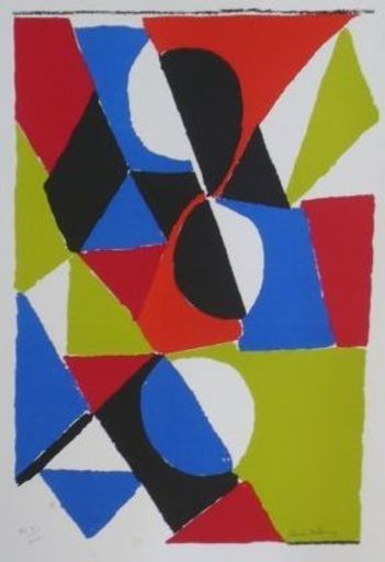 Sonia DELAUNAY - Print-Multiple - GRANADA
