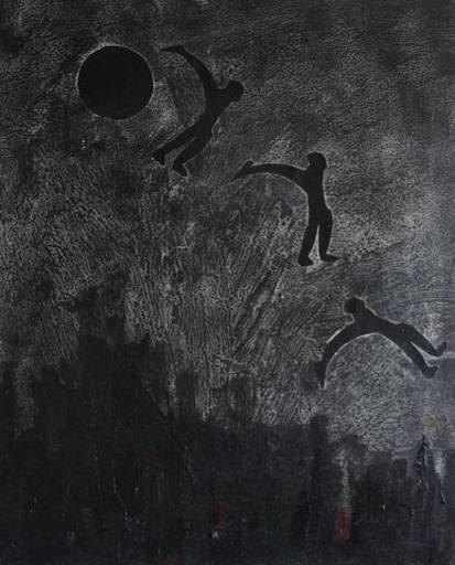 Aline GAGNAIRE - Painting - Lune
