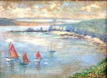 Francisco LLORENS DÍAZ - Pintura - marina