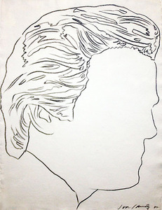 Andy WARHOL, UNTITLED ( JON GOULD)