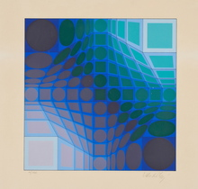 Victor VASARELY - Print-Multiple - Del-Kelet