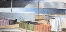 Marcello SCUFFI - Peinture - Il mare d'inverno
