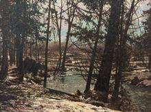 Frank Hans JOHNSTON - Pintura - Winter Surrenders