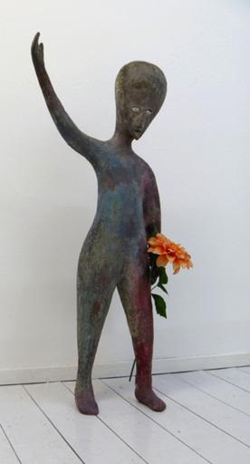 Henk VISCH - Sculpture-Volume - Rauch im Himmel 1