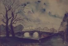 FRANK-WILL - Gemälde - Pont de Paris