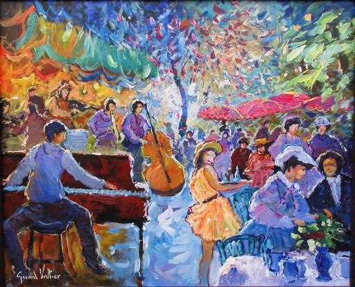 Gérard VALTIER - 绘画 - Douce soirée musicale