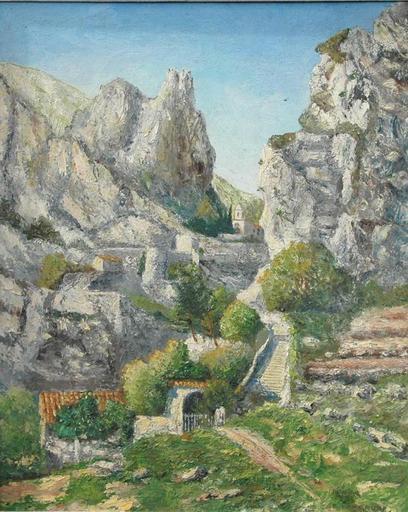 Bernard LANGRUNE - Pintura - Paysage