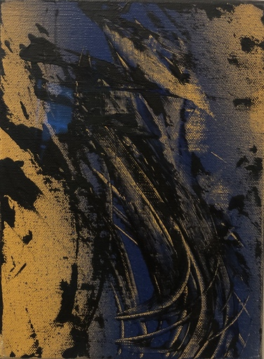 Hans HARTUNG - Painting - T 1986 - R20