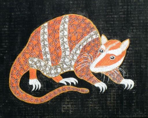 Annemarie HOFFMANN - Painting - BaumYapok    (Cat N° 5842)