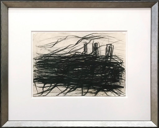 Max UHLIG - Dibujo Acuarela - Thames London (Themse) III