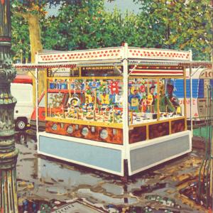 François BOISROND - Painting - L'attrape Nigaud