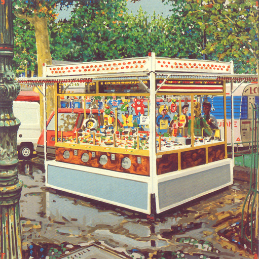 François BOISROND - 绘画 - L'attrape Nigaud