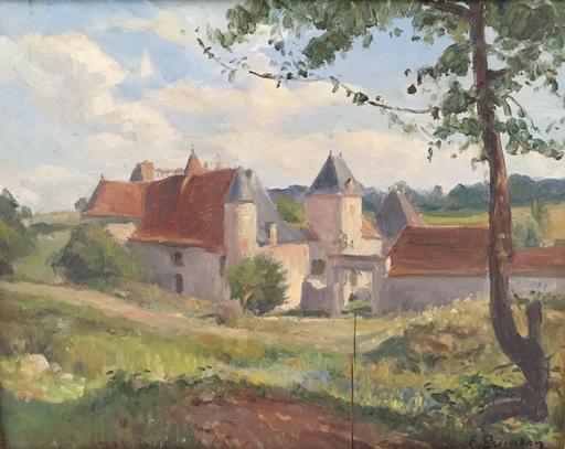 Edmond QUINTON - Peinture - Le vieux château