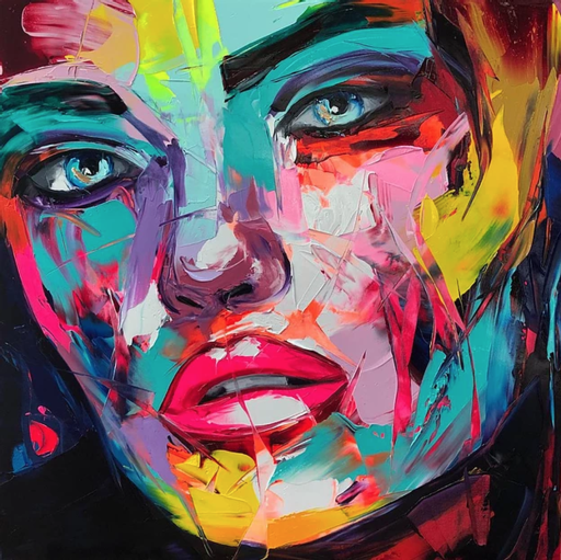 Françoise NIELLY - Painting - Athena
