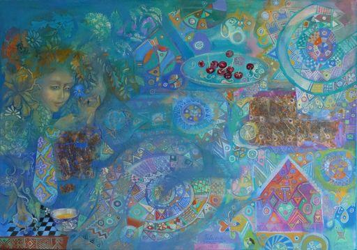 Patricija TIKNUSS - Painting - Midsummers Night Dream