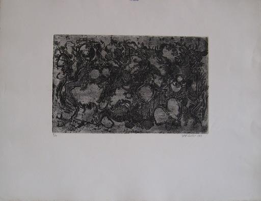 Roger-Edgar GILLET - 版画 - GRAVURE 1963 SIGNÉE AU CRAYON NUM/20 HANDSIGNED NUMB ETCHING