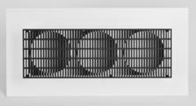 Antonio ASIS - Sculpture-Volume - 3 Cercles noir et blanc