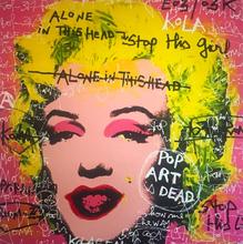 KOKIAN - Peinture - Marilyn - Pop art is dead