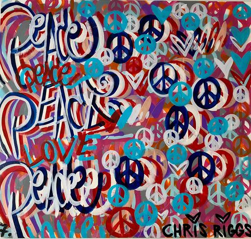 Chris RIGGS - Painting - Peace