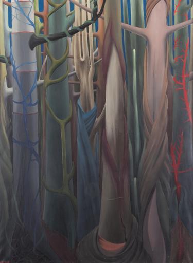 Félix LABISSE - Painting - Amazone-Amazone