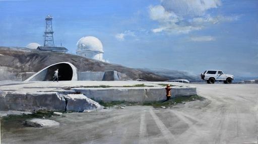 Alexey ALPATOV - Painting - Observatory