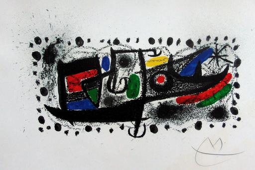 Joan MIRO - Estampe-Multiple - Joan Miró and Catalonia | Joan Miró und Katalonien