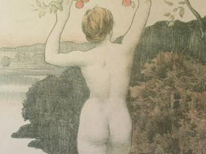 Émile René MENARD - Estampe-Multiple - L'automne