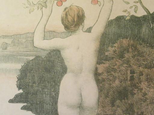 Émile René MENARD - Print-Multiple - L'automne