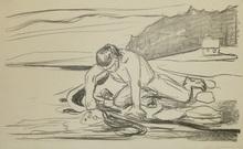 Edvard MUNCH (1863-1944) - Omega's Death