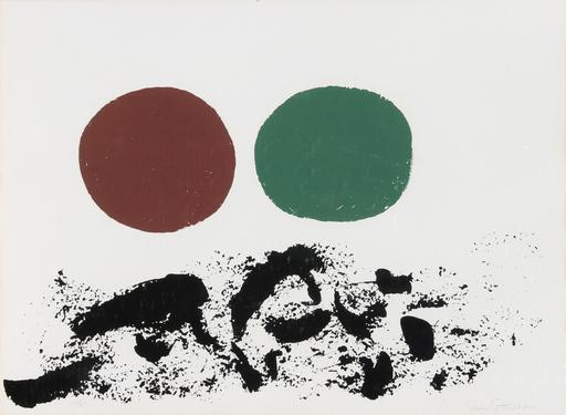 Adolph GOTTLIEB - Druckgrafik-Multiple - Flurry
