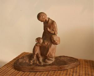 Amedeo GENNARELLI - Escultura - Mère et enfant