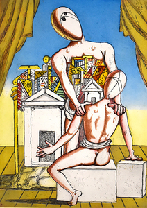 Giorgio DE CHIRICO - Print-Multiple - Orestes and Pylades (Second Version)