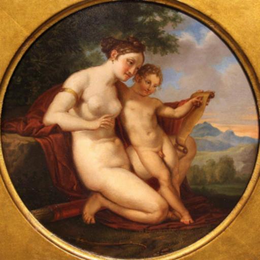 Pelagio PALAGI - Pintura - Venere educatrice di Amore