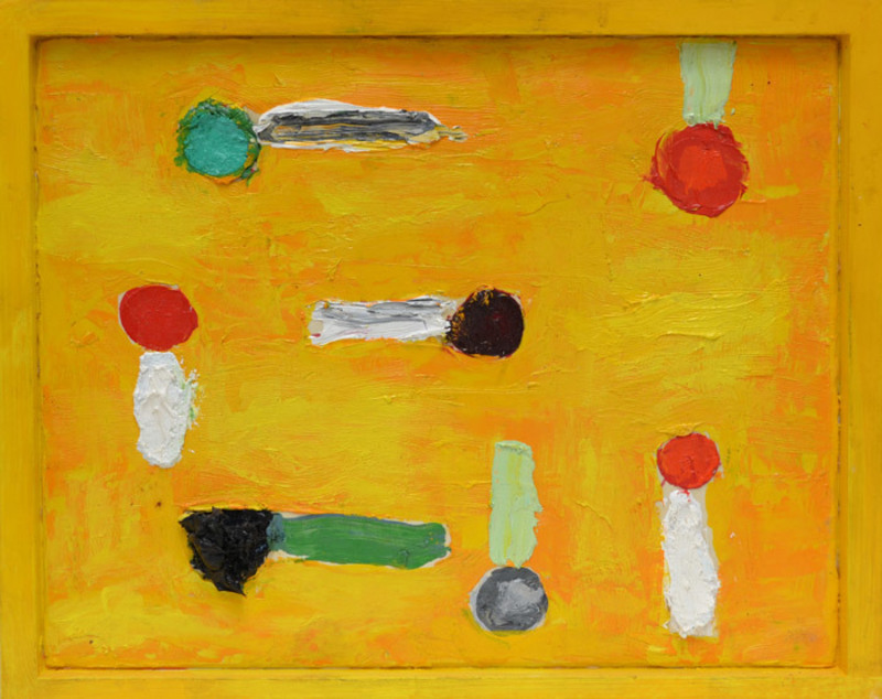 Nicola DE MARIA - Painting - Astri fatati sentimentali