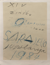 Cy TWOMBLY - Print-Multiple - SARAJEVO