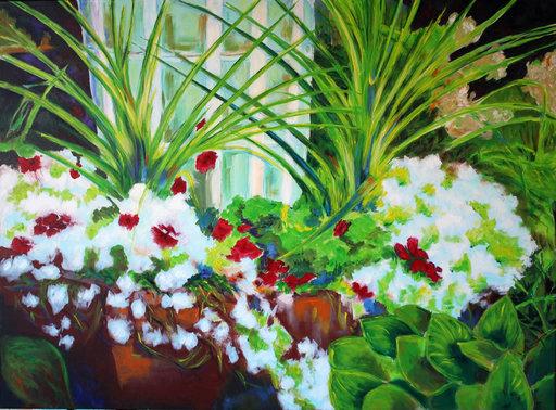 Guylaine MALO - Peinture - 80 ou La Joie