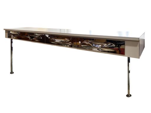 Raymond LOEWY - Console réalisée pour la CAF de Dijon pièce unique
