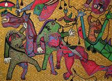 Enrico BAJ - Print-Multiple - Guernica Detail