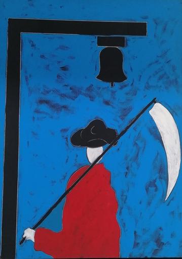Tano FESTA - Pintura - il falciatore