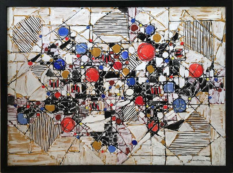 Natalia DUMITRESCO - Painting - Cannes I