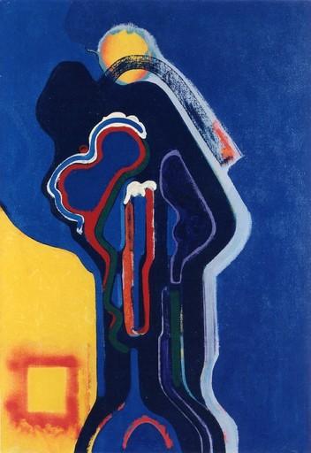 Claude BELLEGARDE - Gemälde - Composition, 1971