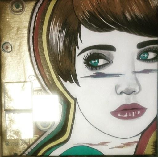 Sophie DEVIGNOT - Painting - Le retard