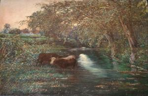 Antonio RODRIGUEZ MOREY - Gemälde - Paisaje